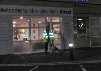 51-mercedes-security-dog-team